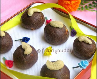 Easy Ragi Almond Ladoo Recipe