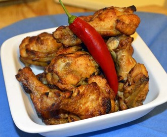 Tex Mex buffalo wings