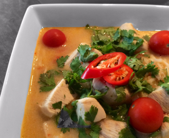 Spicy Tom Kha Gai