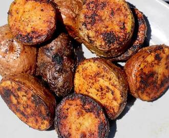 Easy Grilled Baby Potatoes