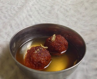bread jamun - gulab jamun using bread - how to make bread jamun - Diwali recipes