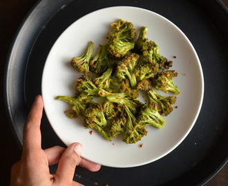 Oven Roasted Broccoli | How to roast Broccoli in Oven