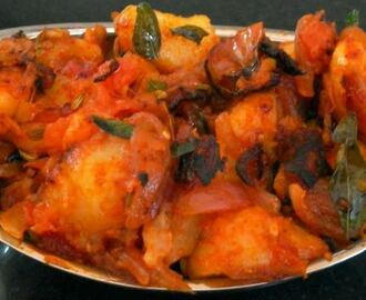 South Indian Spicy Potato Curry