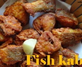 Fish kabab recipe