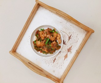 Chilli Chicken - My homely Style