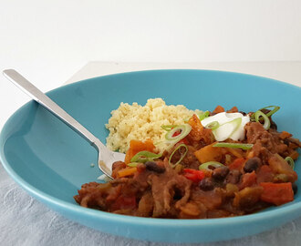 Pittige chili con carne met cacao, koffie en chili