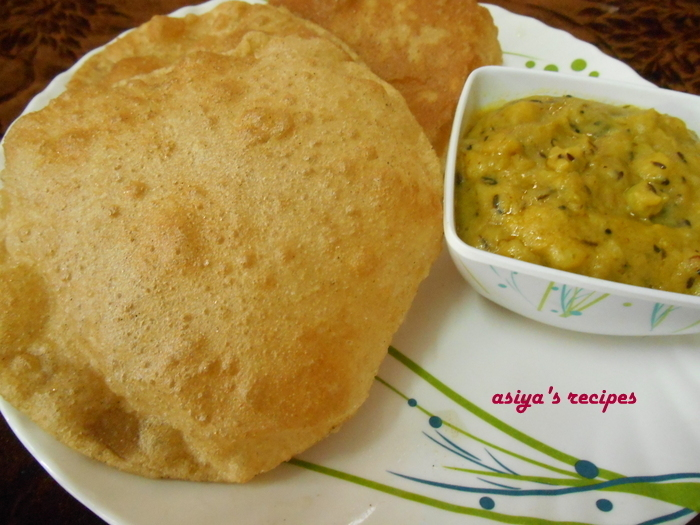 Breakfast Poori Recipe,How To Make South Indian Poori
