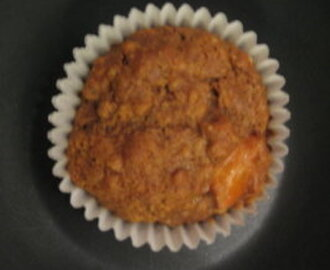 Papaya or Mango Oat Muffins
