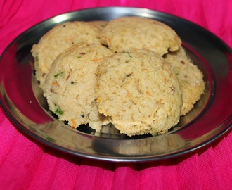 Oats Cookery Workshop Part 3 :Recipe No:5 - Oats-Breadcrumbs Instant Idlis.
