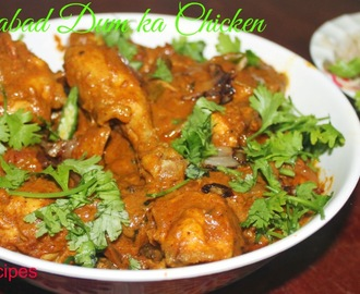 Hyderabadi Dum ka chicken