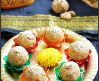 WHEAT FLOUR LADDU / ATTA LADOO / GODI HITTINA UNDE