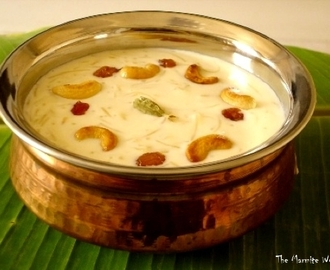 Milk Pudding – Pal Payasam
