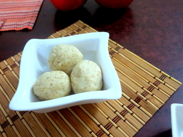 No Cook Cashew Almond Ladoo - Easy Diwali Sweets ~ Cooking without Fire