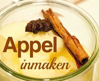 Appel Inmaken Recept         |          De Boon in de Tuin
