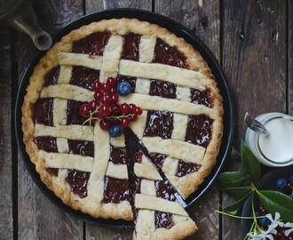 Crostata light alla marmellata