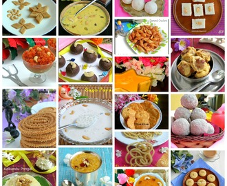Diwali Sweets and Snacks Recipes / Diwali Recipes 2014
