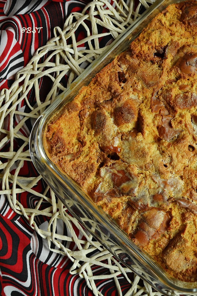 Butter scothch bread pudding | bread pudding with butter scotch |How to make butter scotch bread pudding from scratch