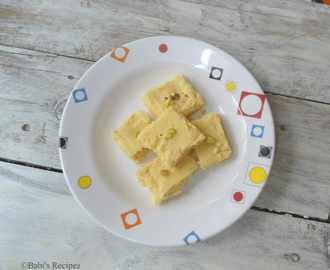 Milk Powder Burfi /Fudge | Diwali 2015 Recipe | Festive Sweet recipe