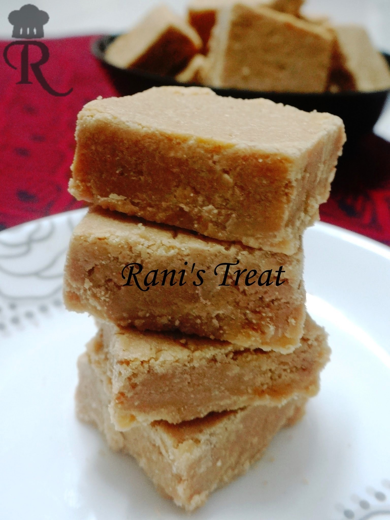 7 Cup Burfi | Seven Cup Sweet | Easy Diwali Sweet Recipe