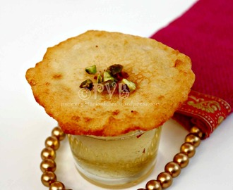 Back to Blogging with a yummy Indian dessert – Malpua ~ Indian pancake drenched in sugar syrup