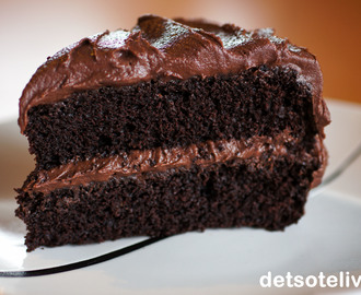 Ultimate Chocolate Crazy Cake