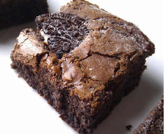 Brownies de Bolacha Oreo