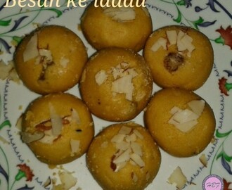 Besan ke Laddu recipe | How to make Besan ka Laddu