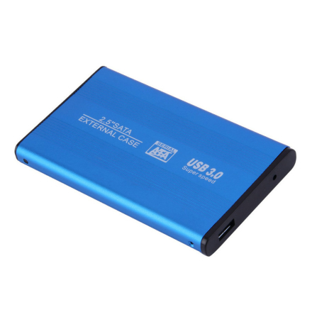 box hdd 2.5 usb 3.0 HDD Case Hard Drive SATA External Enclosure hard disk case for laptop hdd adapter blue