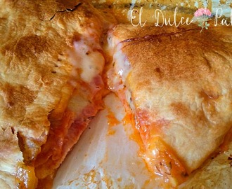 Pizza calzone muy fácil