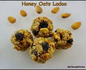 Honey Oats Ladoo