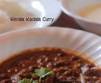 Kadala Curry Recipe / Kerala Kadala curry for Puttu, Appam and Idiyappam