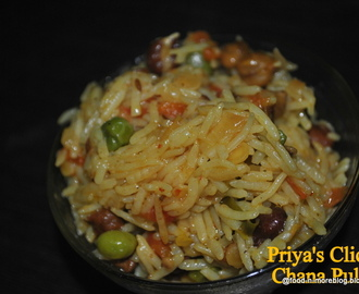 Recipe : Chana Pulao | How to make channa arhar pulao | one pot chickpea Rice meal