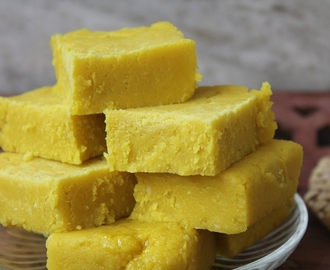 Easy Maida Burfi Recipe - Quick Barfi made in 20 mins