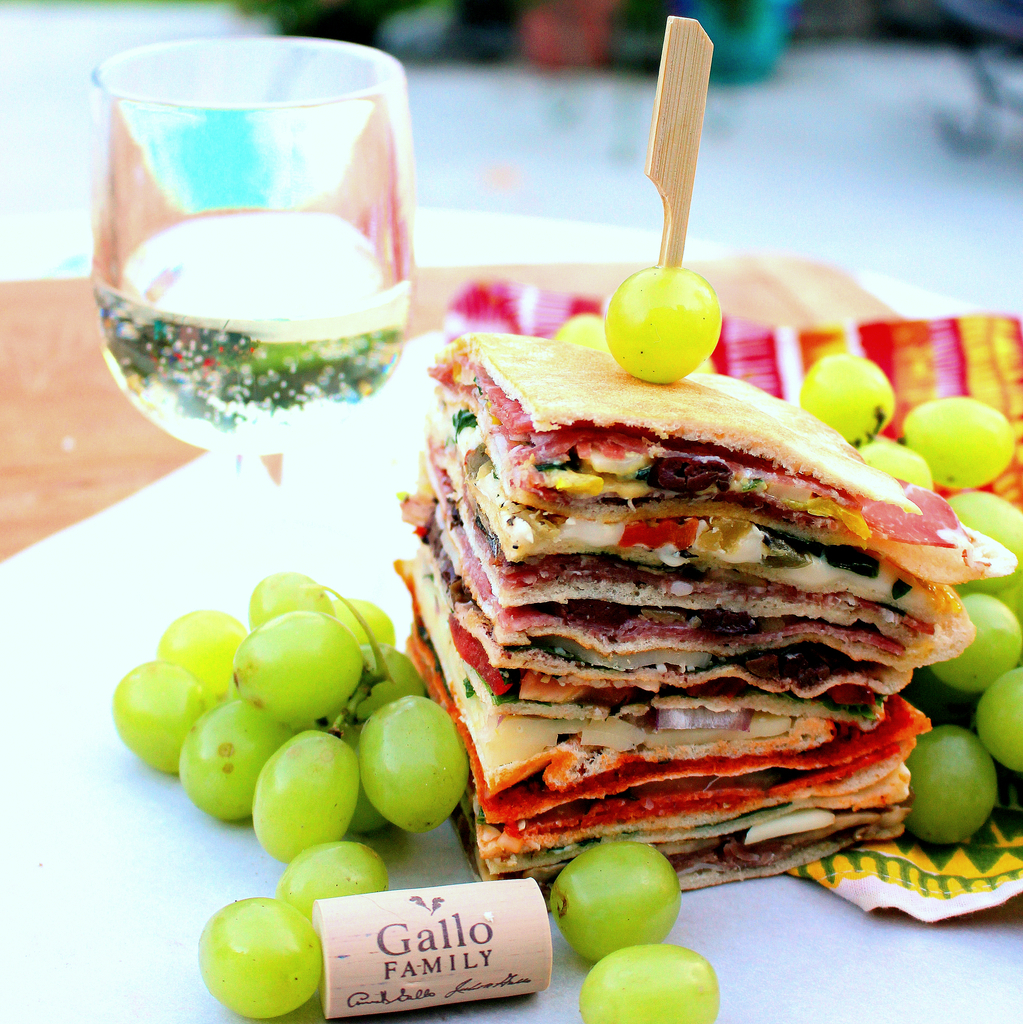 Picnic Sandwich Torte for #Sunday Supper