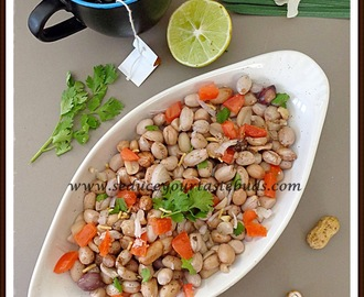 Peanut Chaat | Healthy Snack Recipe