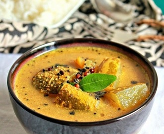 Mangalore Cucumber ( Vellarikkai ) Curry