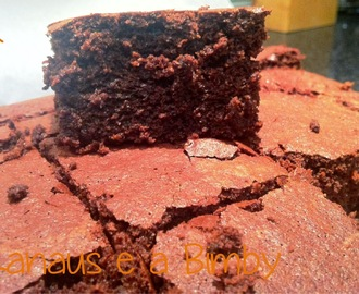 Brownies Integrais de Chocolate e Beterraba na Bimby
