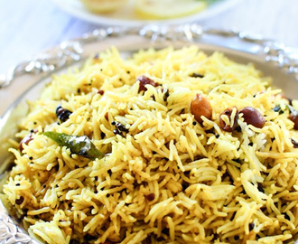 Easy Lemon Rice Recipe | One Pot Meal