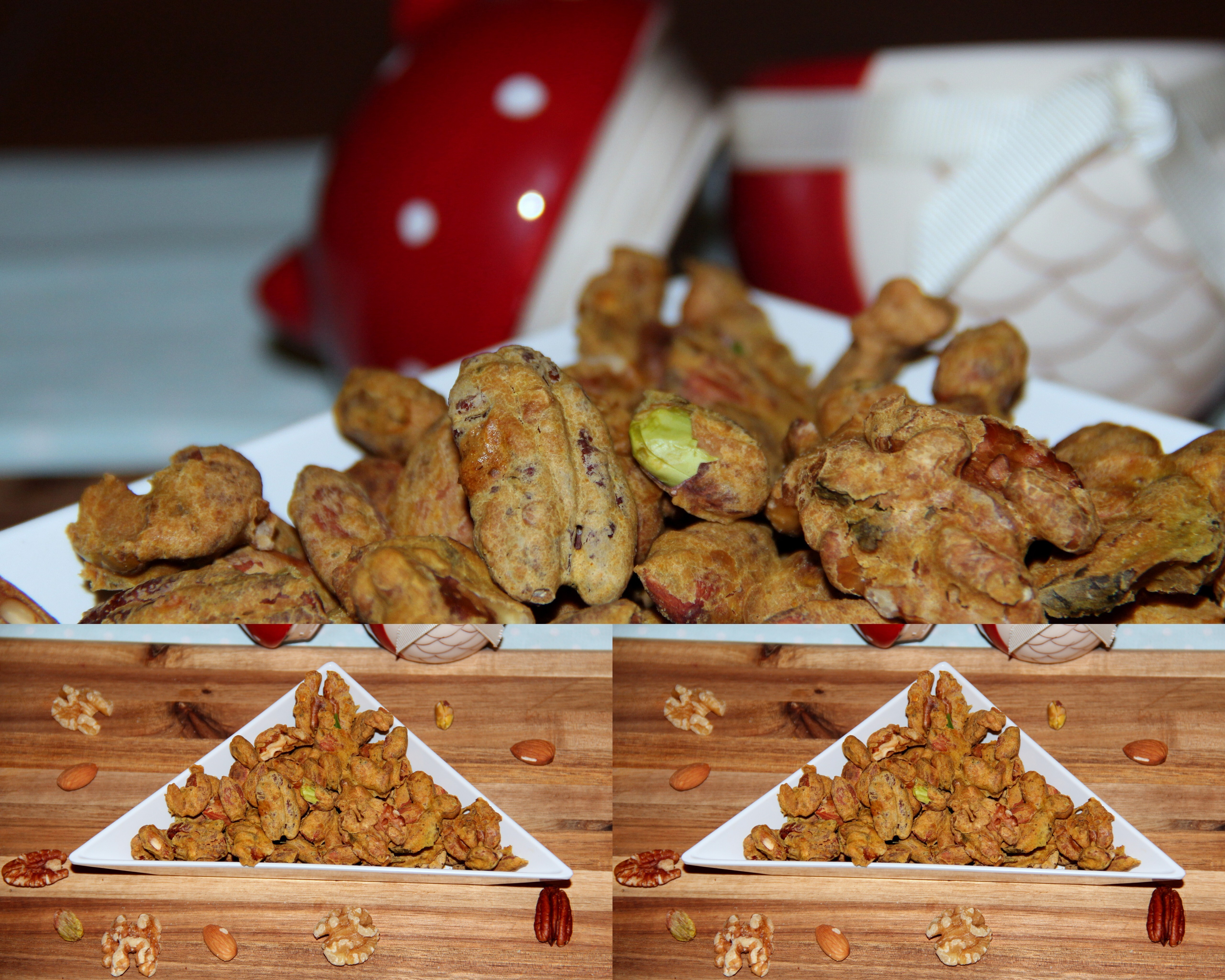 Baked – Spicy coated mixed nuts