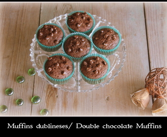 Muffins Dublineses / Double Chocolate Muffins