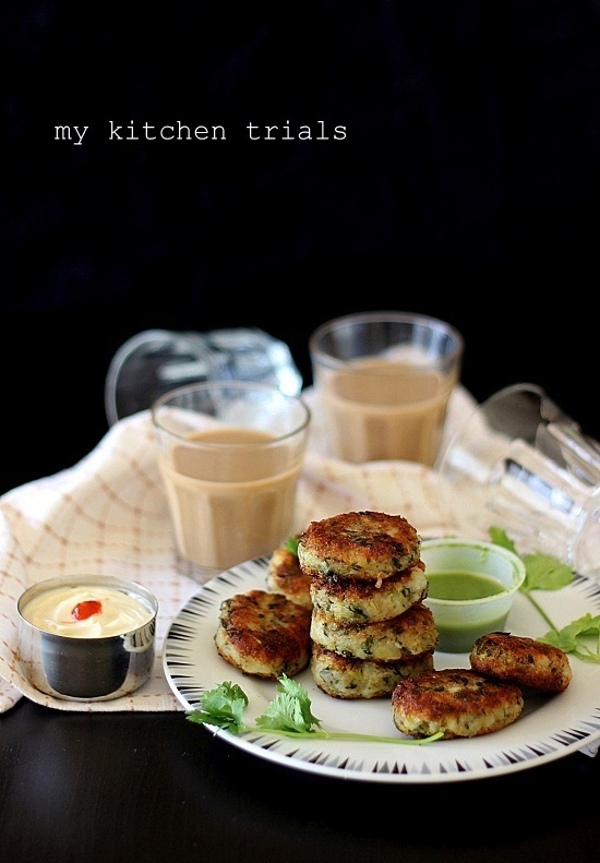 Potato broccoli patties