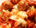 One Pot Cheesy Tortellini and Meatballs Recipe Card
