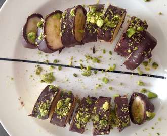 Pistachio chocolate banana sushi – surprising recipes