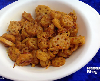Himachal Pradesh Spicy Bhey /Lotus stem curry