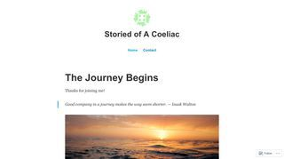 Stories of a coeliac