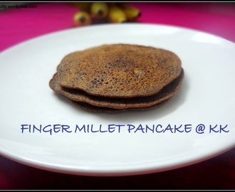 RAGI PANCAKE|FINGER MILLET PANCAKE-NO EGG NO COOKING SODA
