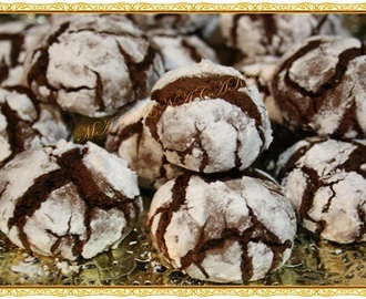 GALLETAS DE CHOCOLATE (CRINKLES)