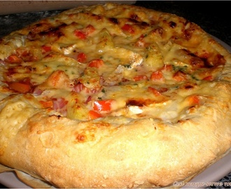 Recettes de jambon blanc en croute mytaste - Comment cuisiner une dinde pour quel reste moelleuse ...