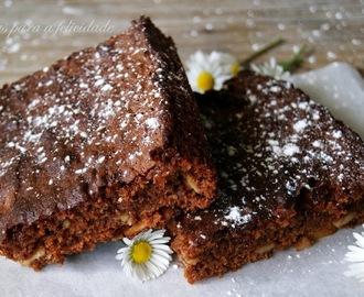 Brownies de Chocolate e Amêndoa