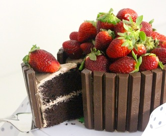 Chocolate Kitkat Cake ~ Recipe